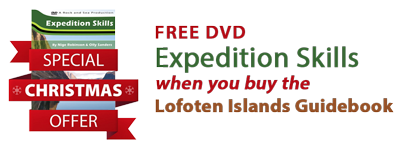 Free DVD when you buy The Lofoten Islands Book